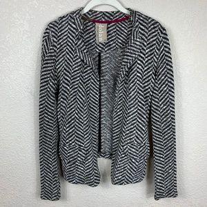 Anthro Dolan Tramore Herringbone Cardigan Sweater